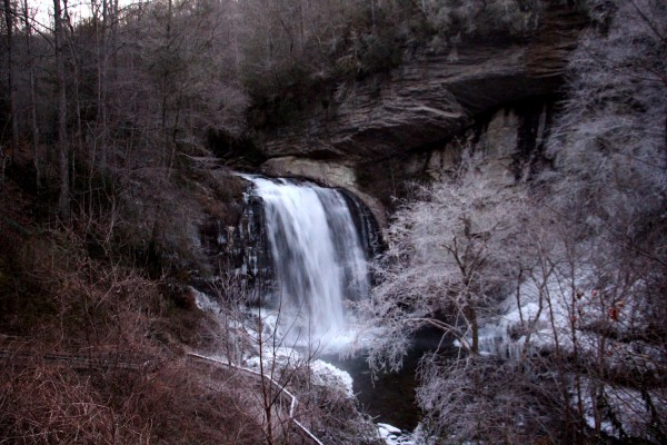 Overview of Icy Falls